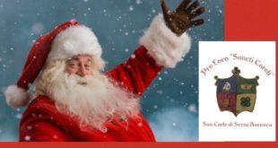 Sessa Aurunca – Babbo Natale a San Carlo, la Pro Loco Sancti Caroli organizza la festa di Natale dedicata a grandi e piccini