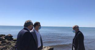 """Castelvolturno /Mondragone – Macchia nera in mare, Oliviero sulla foce dell'Agnena: """"la mia commissione si è già attivata per evitare altri casi del genere"""""""
