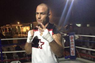 Il pugile Sergio Romano
