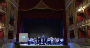 PIETRAMELARA – Concerto dell'Orchestra Regionale della Croce Rossa Italiana, presenti a al teatro Verdi di Salerno sei componenti del complesso bandistico del Montemaggiore