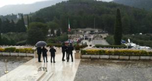 Mignano Montelungo – arrivo al Sacrario del Presidente della Repubblica Mattarella – diretta video