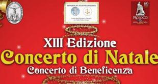 Sessa Aurunca – Tredicesimo concerto di Natale di beneficenza dedicato all'avvocato Tullio Vellucci Longo