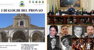 Sessa Aurunca – I Dialoghi del Pronao, un luogo di confronto dove crescere insieme. La nuova iniziativa patrocinata dalla diocesi di Sessa