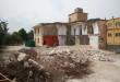 Il cantiere  per la costruzione del nuovo museo di Alife