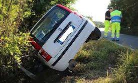 Piedimonte Matese / Caiazzo – Strada allagata, auto finisce nel fossato. Ragazza chiede aiuto: ignorata per molto tempo