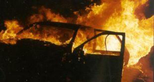 Vairano Patenora – Auto in fiamme sulla Telesina, coinvolta intera famiglia e due ragazzi