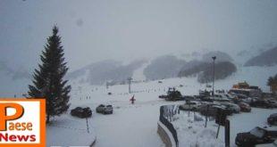 MATESE /ROCCAMONFINA/MONTE MAGGIORE – Cadono i primi fiocchi di neve nell'alto casertano: affiorano i primi disagi.