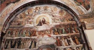 ARIENZO- La cappella del Santissimo e la spettacolare rappresentazione del giudizio universale (il video)