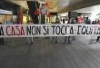 la protesta di Casapound contro equitalia