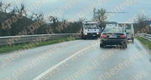 TEANO – Scontro frontale sulla Casilina, conducenti miracolati