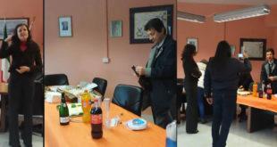 Pietravairano – Del Sesto in parlamento,  festa in municipio: Zarone stappa lo spumante