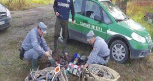 SANTA MARIA LA FOSSA – Blitz anti bracconaggio dei forestali, sequestri e denunce
