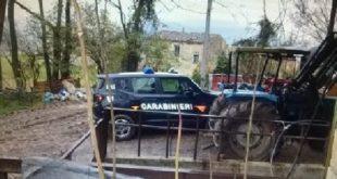RAVISCANINA – Maltrattamento di animali, allevamento sottoposto a sequestro: denunciato titolare