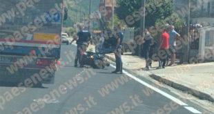 Caianello / Vairano Patenora – Scontro lungo via Ceraselle, ferito noto commerciante