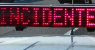 Caserta – Incidente sull'Autostrada A1, tre auto coinvolte