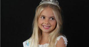 DRAGONI – Continua l'ascesa nel mondo della moda della piccola Maria Gabriela