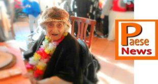PRESENZANO – Nonna Genna festeggia 99 anni