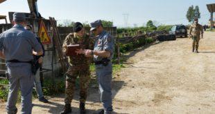 NAPOLI / CASERTA – Operazione di controllo interforze, scattano denunce e sequestri