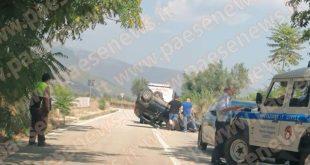 Pignataro Maggiore / Pastorano – Carambola sulla circumvallazione, ferito il conducente (le foto)