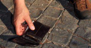Isernia – Cittadino trova un portafogli in strada, lo consegna ai Carabinieri