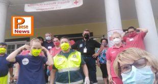 MONDRAGONE / PRESENZANO – EMERGENZA CORONAVIRUS, LA PROTEZIONE CIVILE A SUPPORTO DELLA POPOLAZIONE COLPITA NELLA ZONA DEI PALAZZI EX CIRIO