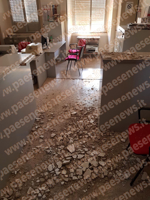 Riardo municipio crollo nell ufficio anagrafe servizio - Comune di sala consilina ufficio anagrafe ...