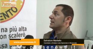Sparanise – Consiglio comunale sull'allarme sicurezza, Martiello: noi siamo il paese più tranquillo dell'intera provincia