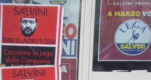 Vairano Patenora – Politica, i Centri Sociali vandalizzano la sede della Lega nella frazione Scalo