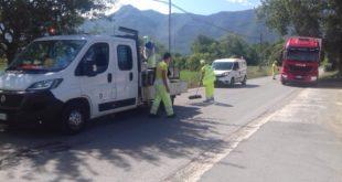 """PIETRAMELARA – Strade provinciali: dopo la """"minaccia"""" del comune la provincia interviene"""