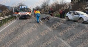 Gricignano / Teano – Schianto sulla Casilina, Giuseppe operato per ore: condizioni restano gravissime