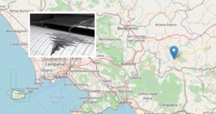 Alta Irpinia – Attività sismica in corso a Sant'Angelo dei Lombardi. I dettagli