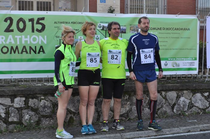 """VAIRANO PATENORA. La """"Pro-Loco Runners Vairano """" alla Montemaggiore Marathon"""